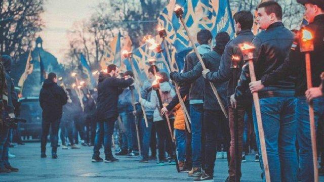У Львові відбулась смолоскипна хода пам'яті Романа Шухевича