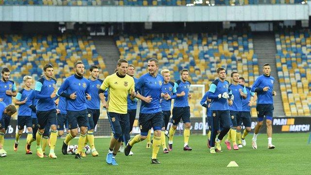 Збірна України готуватиметься до наступного матчу відбору на ЧС-2018 в Австрії