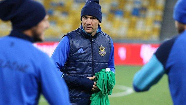 У тренерському штабі збірної України з футболу спростували інформацію про заборгованість