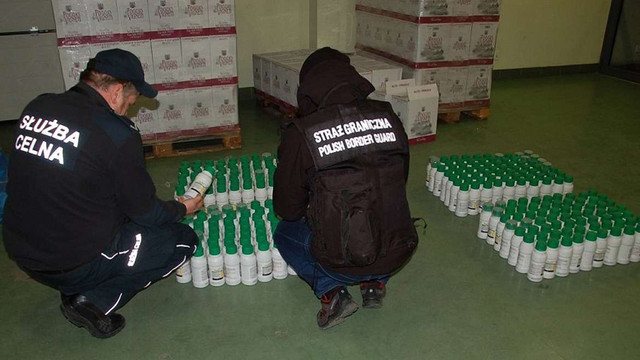 У Перемишлі виявили орендований українцем склад із контрабандою