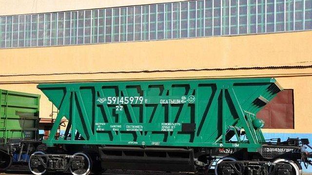 Від початку 2017 року «Укрзалізниця» побудувала 70 вантажних напіввагонів