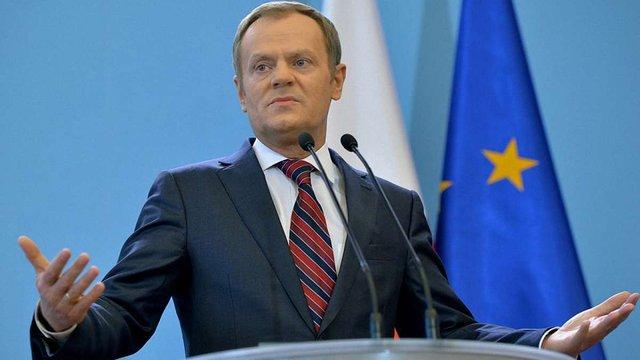 Дональда Туска вдруге обрали президентом Ради Європи