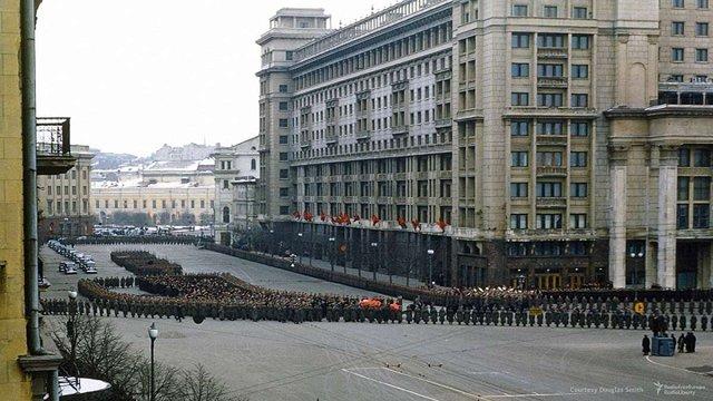 В мережі з'явилося невідоме раніше відео похорону Сталіна