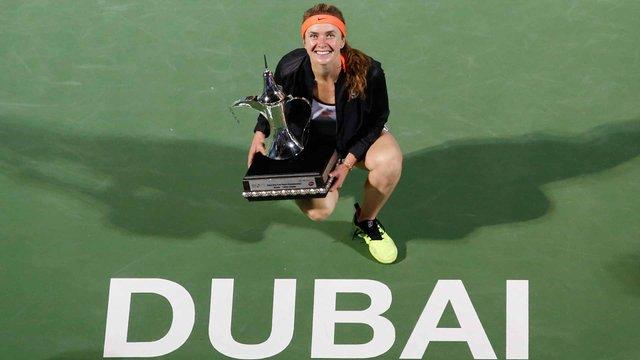 Українка Еліна Світоліна стала найкращою тенісисткою WTA у лютому