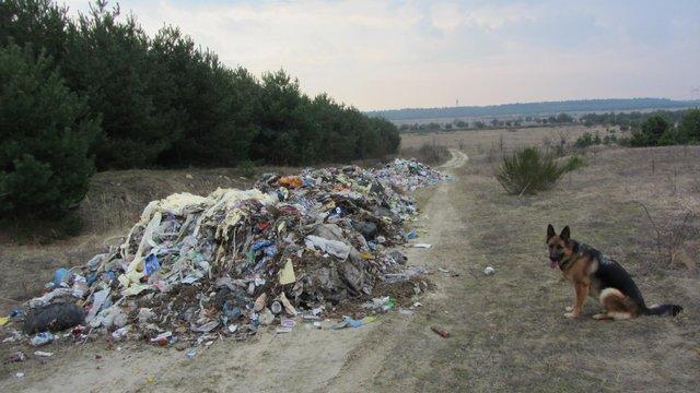 Садовий покарає перевізників, які викидають сміття на околицях міст