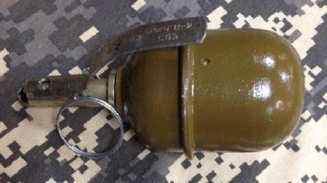У Львові затримали чоловіка із бойовою гранатою