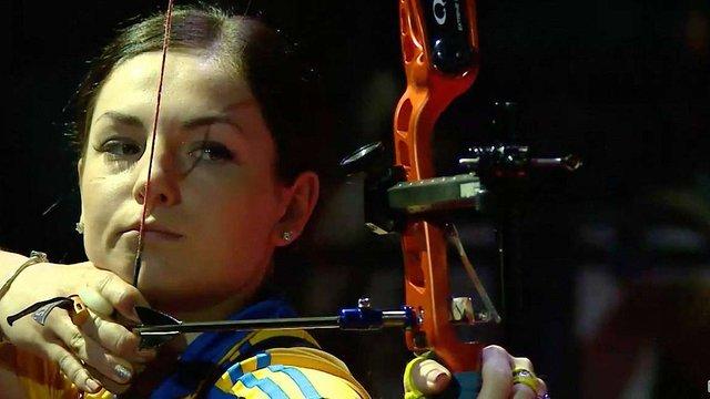 23-річна львів`янка Вероніка Марченко стала чемпіонкою Європи зі стрільби з лука
