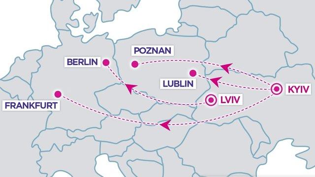 Wizz Air оголосив про новий авіарейс зі Львова до Берліна за €20