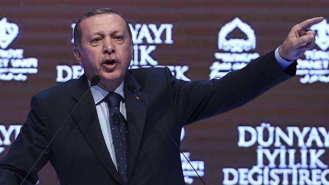 Президент Туреччини звинуватив Ангелу Меркель у підтримці терористів