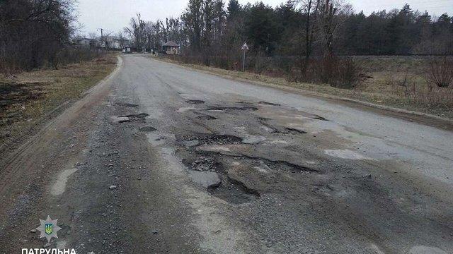 Найбільше ДТП через ями на дорогах сталися в Шевченківському районі Львова
