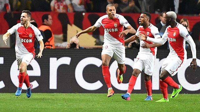 «Монако» вибив «Манчестер Сіті» з розіграшу Ліги чемпіонів