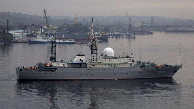 Американська розвідка зафіксувала російський «корабель-шпигун» біля військової бази США