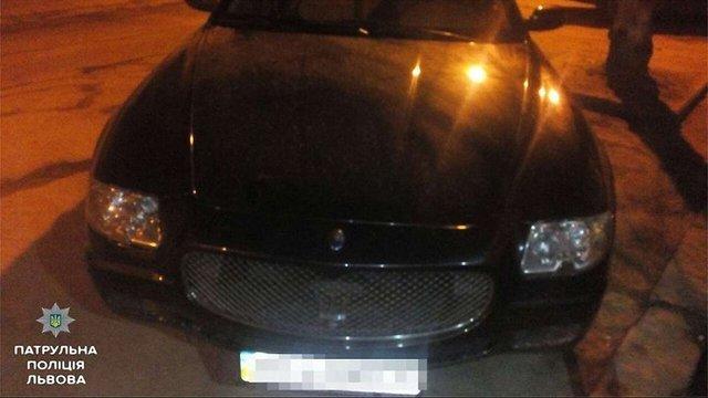 20-річний працівник львівської СТО викрав Maserati 71-річного клієнта
