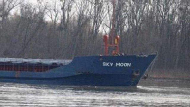 Україна вперше конфіскувала іноземне судно, яке заходило в анексований Крим