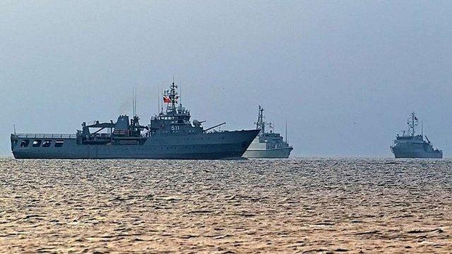 В порт Одеси прибули чотири кораблі НАТО