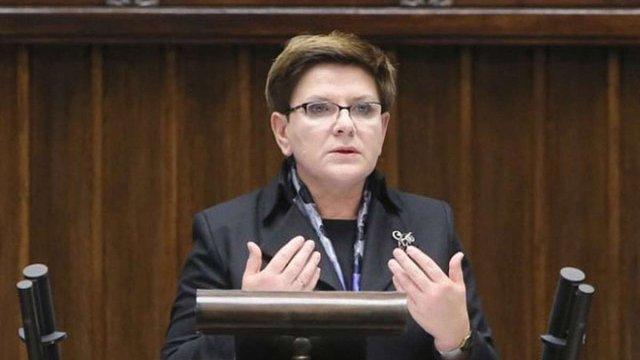 Польська опозиція ініціювала вотум недовіри урядові Беати Шидло