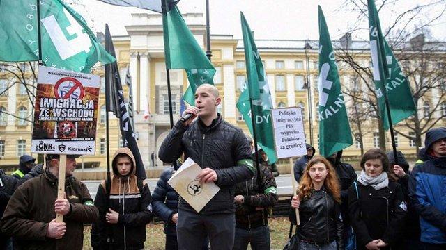 У Варшаві праворадикали протестували проти «українізації польського ринку праці»