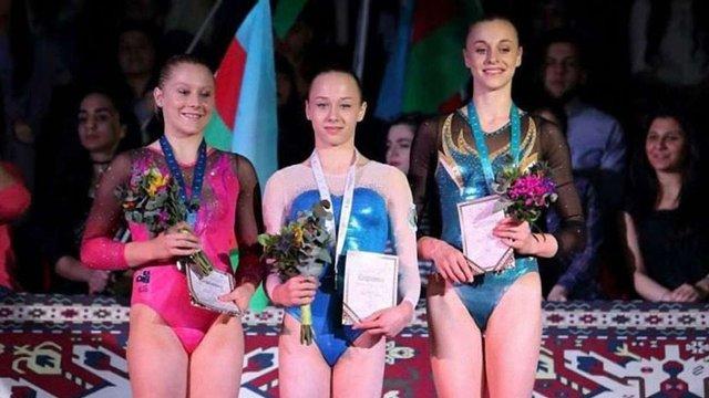 Українка виграла золото на Кубку світу з гімнастики
