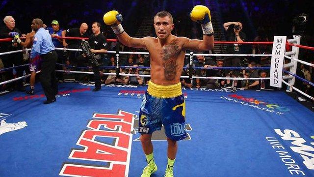 Українець Василь Ломаченко залишився шостим у рейтингу найсильніших боксерів світу
