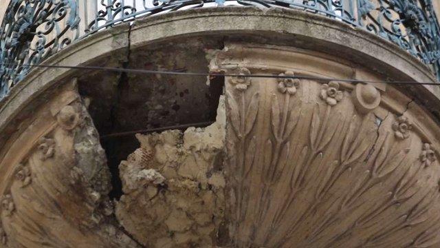 У центрі Львова нарахували 124 аварійні балкони