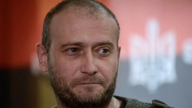 Дмитро Ярош задекларував нову квартиру і торговельну марку «візитівка Яроша»