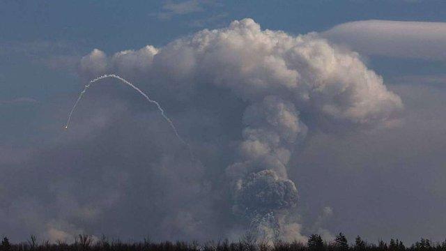 Радник президента розповів подробиці пожежі в Балаклії