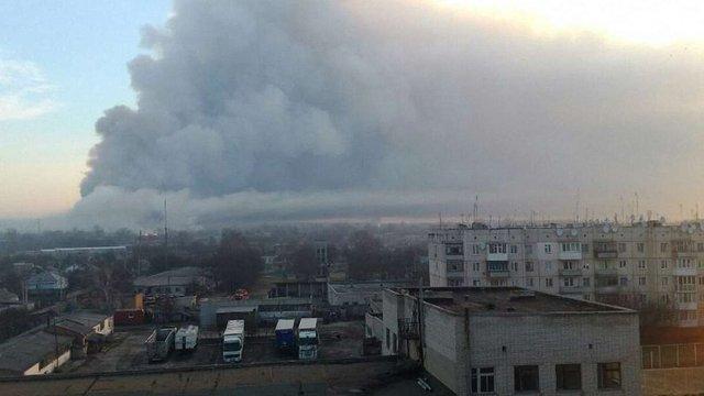 Міністр регіонального розвитку назвав три етапи ліквідації пожежі у Балаклії