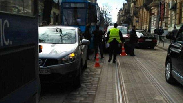 На Чупринки у Львові два трамваї потрапили в ДТП