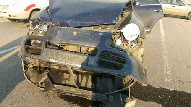 На Полтавщині сім автомобілів потрапили в ДТП через задимленість дороги