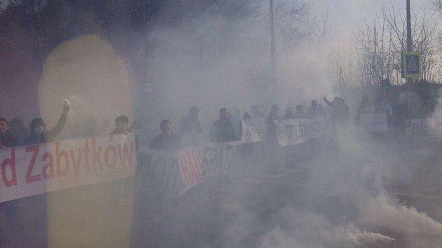 Перекриття дороги Львів – Рава-Руська розслідують як розпалювання міжнаціональної ворожнечі