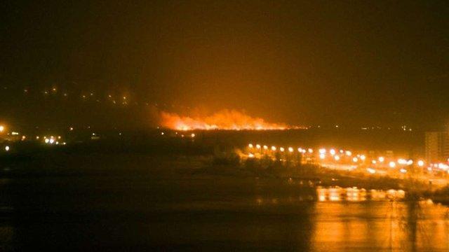У ДСНС уточнили причину масштабної пожежі під Києвом