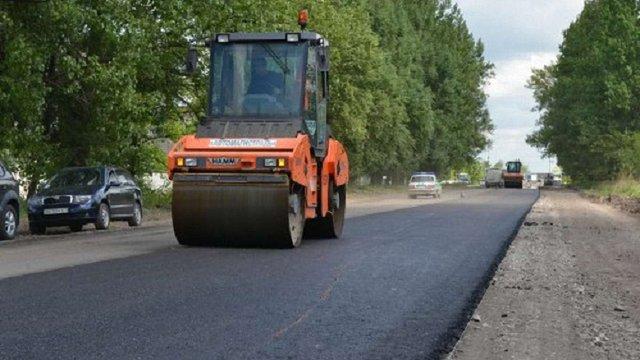 Цьогоріч за ₴233 млн завершать ремонт дороги від Львова до межі з Тернопільською областю