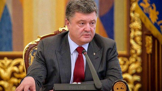 Порошенко анонсував запуск реєстру автоматичного відшкодування ПДВ з 1 квітня
