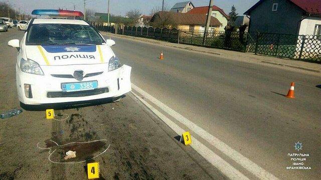 В Івано-Франківську п'яна жінка  на BMW збила трьох людей і втекла з місця події