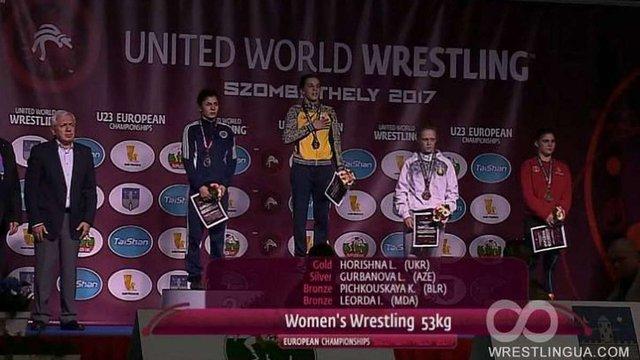 Дві українські спортсменки стали чемпіонками Європи з боротьби