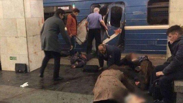 У метро Санкт-Петербурга прогримів потужний вибух