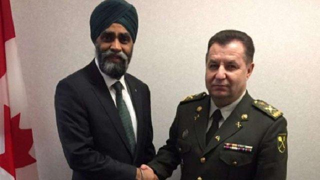 Україна і Канада підписали домовленість про співпрацю у сфері оборони
