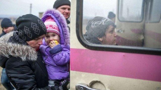 З окупованих територій виїхали 1 млн 590 тис. переселенців, – Мінсоцполітики
