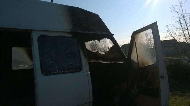 На Волині спалили авто керівника місцевого осередку «Самопомочі»