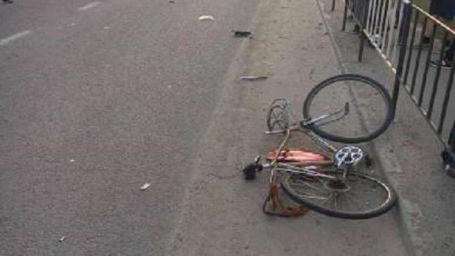 У Новояворівську  загинув 79-річний велосипедист