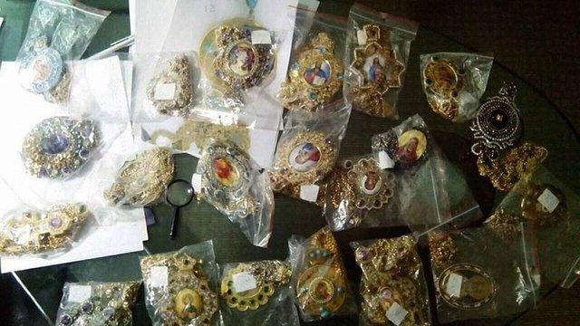 Прокуратура затримала чоловіка з викраденими коштовностями померлого митрополита Володимира