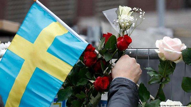 Шведські правоохорнці підтвердили арешт другого підозрюваного у теракті в Стокгольмі