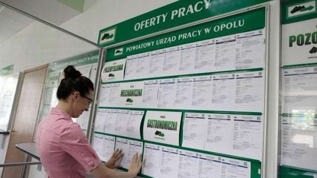 В Польщі знизився рівень безробіття