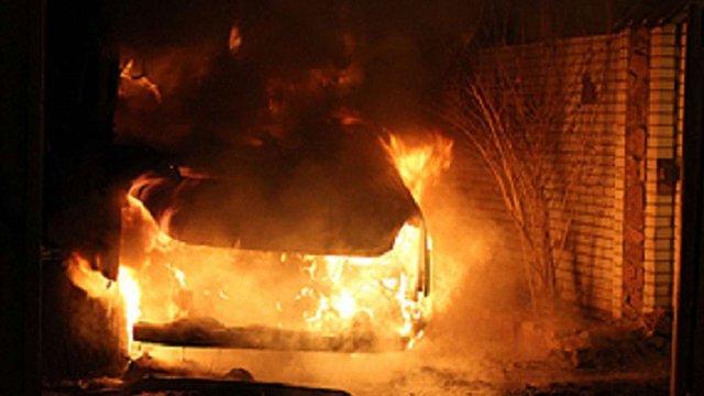 В Києві спалили автомобіль активістки, яка захищає ліс