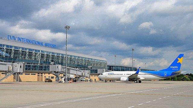 За три місяці 2017 року  аеропорт «Львів» вдвічі збільшив пасажиропотік