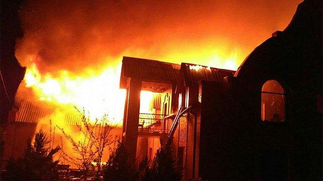У Вінниці згорів молитовний дім євангельських християн-баптистів