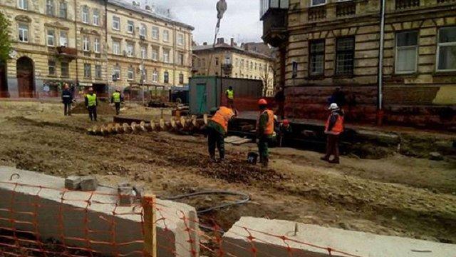 Перехрестя вул. Личаківської – Мечникова відкриють для проїзду в середині червня