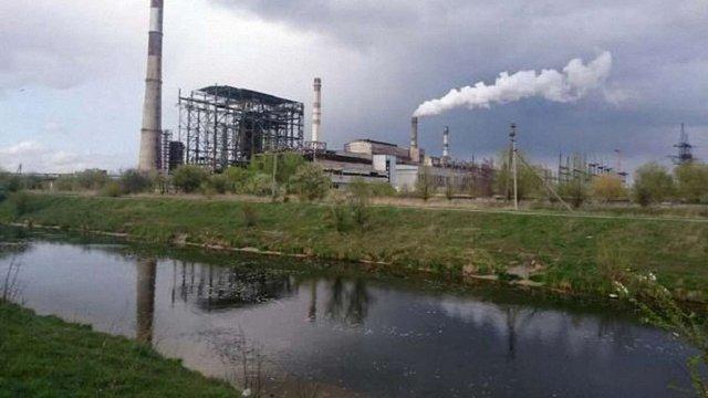 У каналі біля Добротвірської ТЕС виявили маслянисті плями