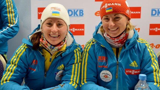 Сестри Семеренко повернулись до складу збірної України з біатлону