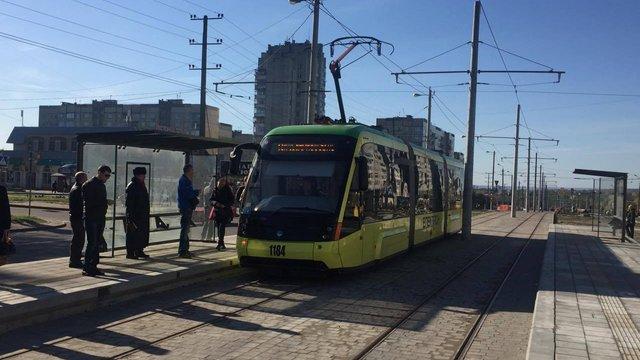 Сихівський трамвай №8 почав курсувати до Санта-Барбари